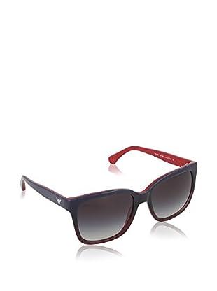 Emporio Armani Sonnenbrille EA404253478G55 (55 mm) blau/rot