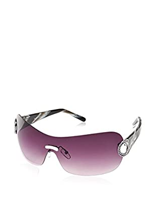 LANCASTER Sonnenbrille Bohemien (76 mm) schwarz/weiß
