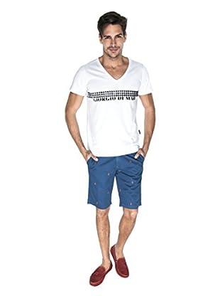 Giorgio Di Mare Camiseta Jerom (Blanco)