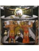 WWE Classic Superstars Ultimate Warrior Hulk Hogan 2 Pack Figures