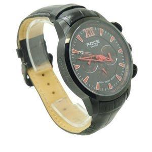 Foce F914Gbl Black Designer Chronograph Mens Wrist Watch Td-1120