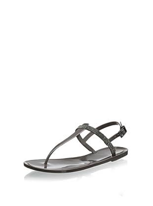 Vince Camuto Women's Udele Flat Thong Sandal (Steel)