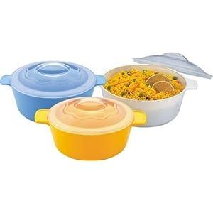 Prime Microwave Cook N Serve Bowl - Medium (1500ml)
