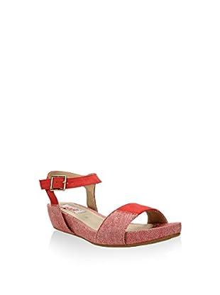 GAL·LATEA IN RED Keil Sandalette
