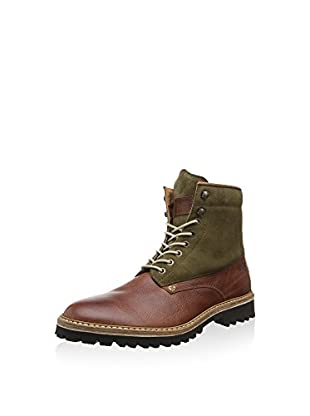 Wolverine Stiefelette Tomas Brown Leather/suede