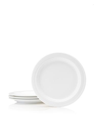 BergHOFF Set Of 4 Hotel Line Bread Plates, White, 7''