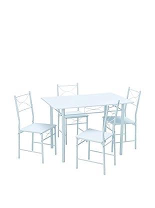 13Casa Tischgruppe 5er Set Function D4