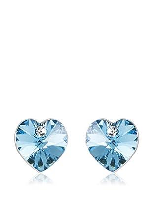 Musaventura Ohrringe Heart blau