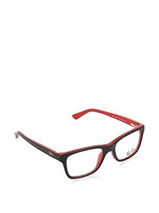 Ray-Ban Montatura Mod. 1536 357346 (46 mm) Nero/Rosso