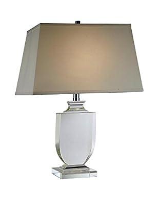 Urban Lights Regina 1-Light Table Lamp, Chrome