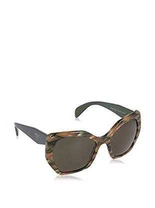 Prada Gafas de Sol 16RSSUN_VAO4J1 (56 mm) Verde
