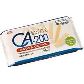 【クリックで詳細表示】CA-200カルシウム ウエハース 40枚: 食品・飲料・お酒 通販
