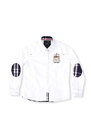 Valecuatro Camisa Junior Caballos (Blanco)