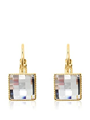 Swarovski Elements by Philippa Gold Ohrringe Perfect Square Earrings