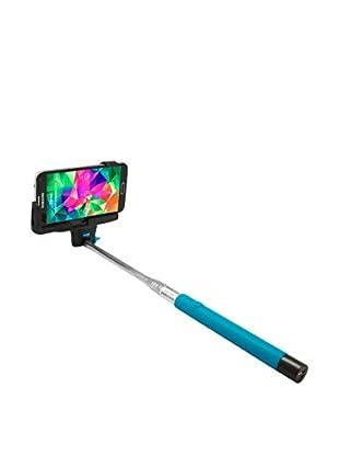Unotec Monopod Con Disparador Bluetooth Azul
