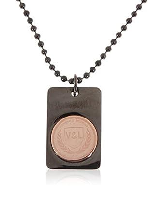 V&L Conjunto de cadena y colgante VJ0195CL