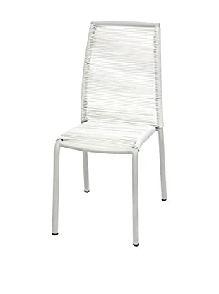 Contemporary Living Set Silla 2 Uds. Kely Blanco