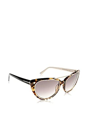 Tom Ford Sonnenbrille FT0384_PANT_56B (58 mm) havanna