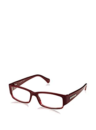 E. Zegna Gestell VZ3535_09M8 (53 mm) bordeaux
