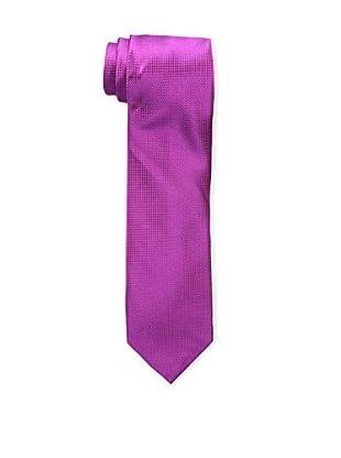 Bruno Piattelli Men's Solid Tie, Fuschia