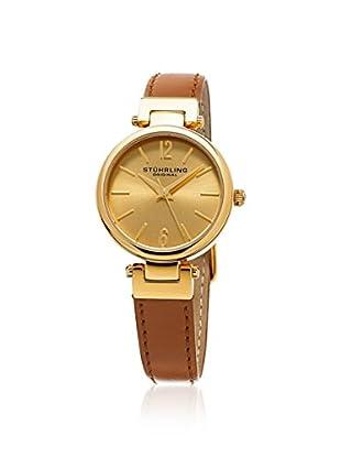 Stührling Original Women's 956.02 Symphony Analog Display Quartz Brown Watch