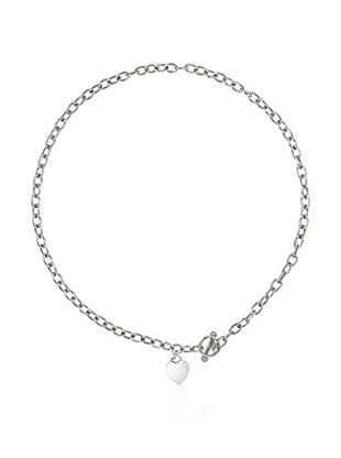 WISHLIST Halskette RED PINK rhodiniertes Silber 925