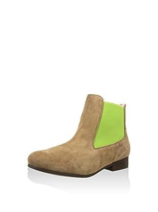 Bisue Chelsea Boot braun/pistazie EU 39