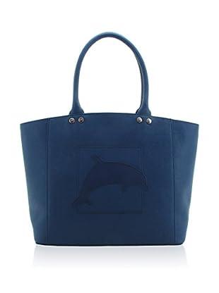 davidelfin Bolso shopping Flipper Azul
