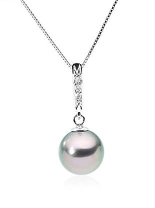 So Fine Pearls Conjunto de cadena y colgante oro blanco 18 ct