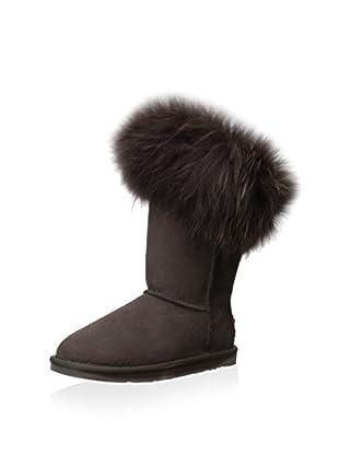AUStralia Luxe Collective Womens Foxy Short Short Fur Trimmed Boot (Beva)