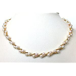 SURAT DIAMOND Elite Elegance Pearl Necklace