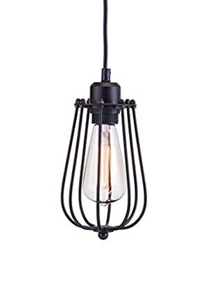 Zuo Napier Ceiling Lamp, Distressed Black