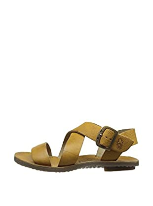 Fly London Sandalias Bian Gladiator (Camel)