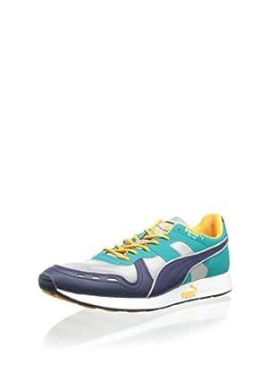 PUMA Men's RS100 AW Fashion Sneaker (Navy)