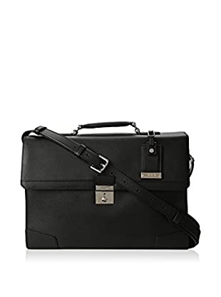TUMI Astor Dorilton Slim Flap Leather Brief, Black