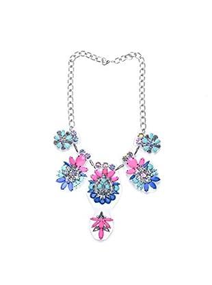 Violet Halskette  silberfarben/mehrfarbig
