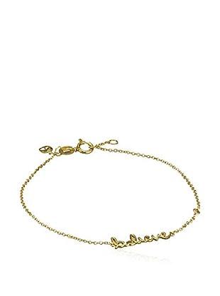 Sydney Evan Armband vergoldetes Silber 18 Karat