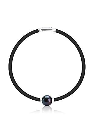 Manufacture Royale des Perles du Pacifique Armband 19 cm rhodiniertes Silber 925