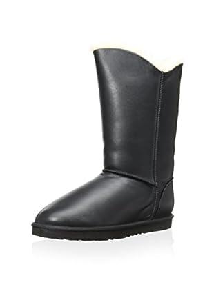 Koolaburra Women's Double Halo Boot (Black Leather)