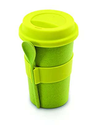 BergHOFF CookNCo Coffee Mug With Spoon, Green