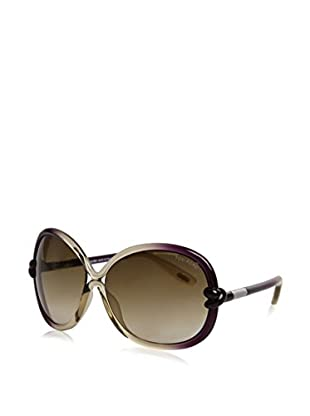 Tom Ford Gafas de Sol Ft185 01B (64 mm) Oliva / Violeta