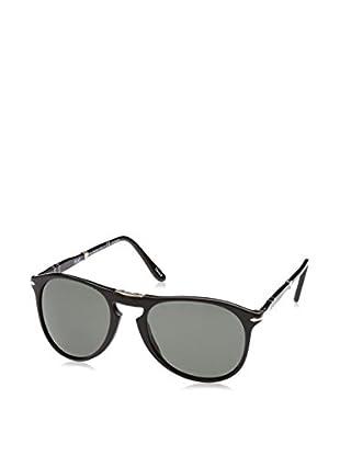 Persol Gafas de Sol Polarized 0PO9714S 55 95/58 (55 mm) Negro