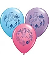 "Pioneer National Latex Sofia The First 12"" Latex Balloons, 6 Count"