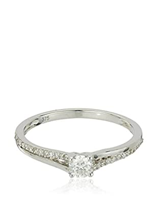 Bentelli Anillo 9K Gold 0.28Ct Diamonds