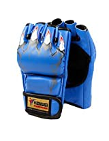 MMA Grappling Boxing Punch Leather Training Gloves