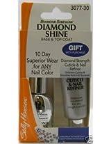 Sally Hansen Diamond Shine Base & Top Coat + Gift 307730