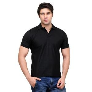 WOW Men's Polo T-shirt - Black
