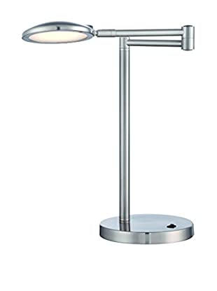 Lite Source Orlando LED Desk Lamp, Steel