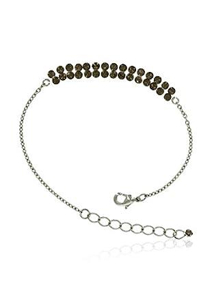 Shiny Cristal Armband  rhodiniertes Silber 925