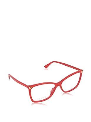 Gucci Montura 0025O_004 (56 mm) Rojo